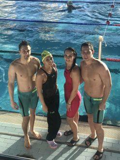 Тольяттинская команда по плаванию установила пять рекордов