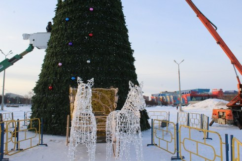 Власти Тольятти вдвое увеличат финансирование на новогоднее оформление города