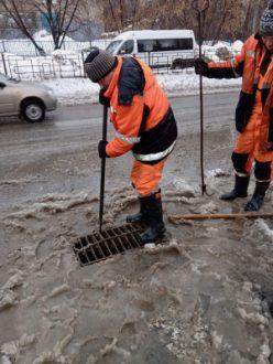 В Самаре готовят систему ливневой канализации для пропуска талых вод