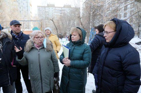 Глава Самары провела выездное совещание в Ленинском районе