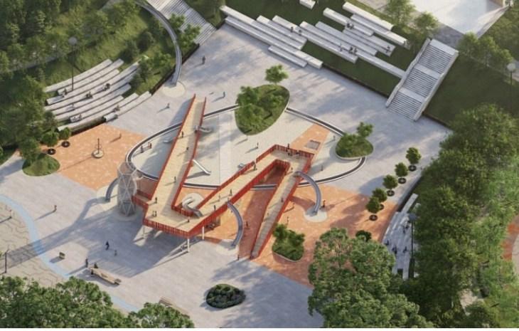 Дмитрий Азаров показал новый эскиз реконструкции набережной в Тольятти