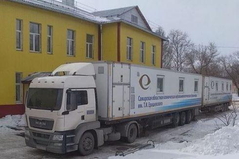 В Тольятти работает мобильное отделение офтальмологической помощи