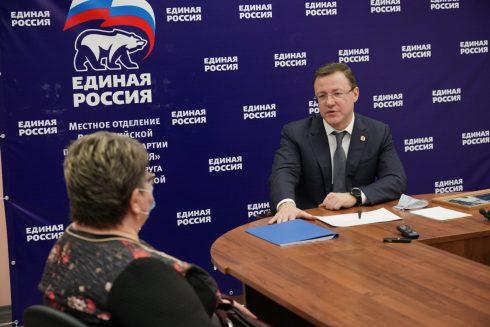 Дмитрий Азаров: люди приходят на прием за помощью и поддержкой