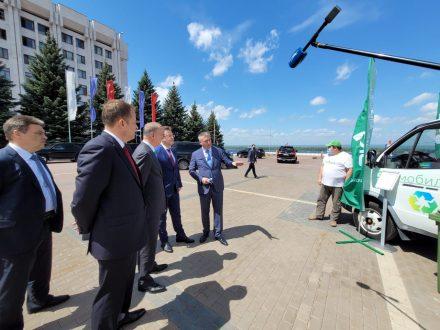 Николаю Патрушеву представили экологические проекты Самарской области