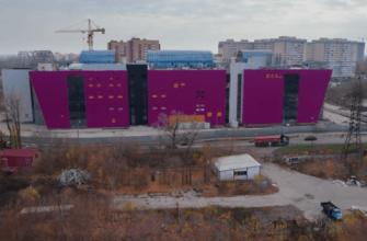 Самарский блогер показал фасад нового торгового центра на берегу реки Самарки