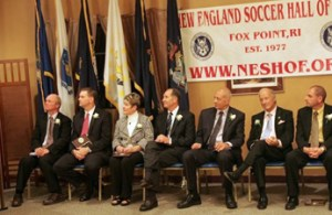 New England Soccer Hall of Fame 2008 Induction Ceremony. Photo by Tony Biscaia/revsnet.com