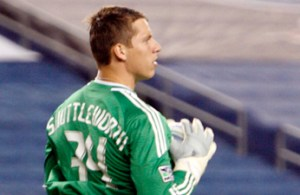 Bobby Shuttleworth put in a great performance to get the shutout for the Revolution on Saturday. (Photo by CHRIS ADUAMA/aduama.com)
