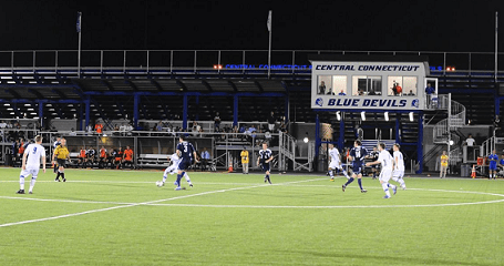 CFC Azul will play its home games at the new Central Connecticut State Soccer Field in 2013. (Photo: CCSU Athletics)