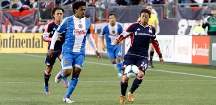 Lee Nguyen scored his first goal of the season against the Union on Saturday. (Photo: Chris Aduama/aduama.com)