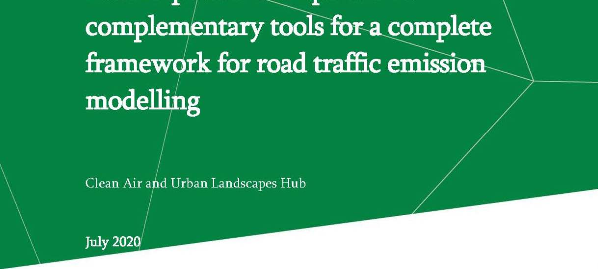 Final report: Development of complementary tools for a complete framework for road traffic emission modelling
