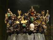 Krone Kaiser Heinrichs II., Detail