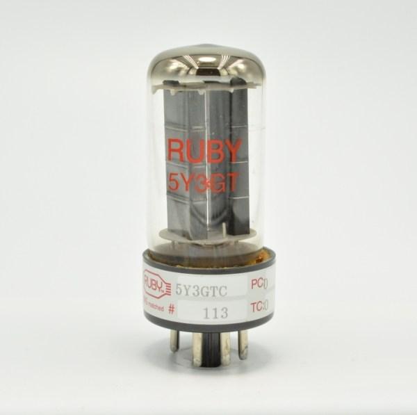 Ruby 5Y3GTC Rectifier tube