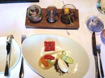 2012 Greek salad - Capsicum, heirloom tomato, Kalamata