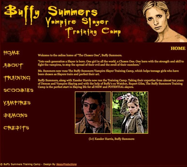 buffy website