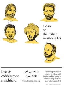 aidan and the italian weather ladies