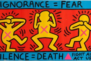 Keith Haring - ignorance fear - Nessymon.com