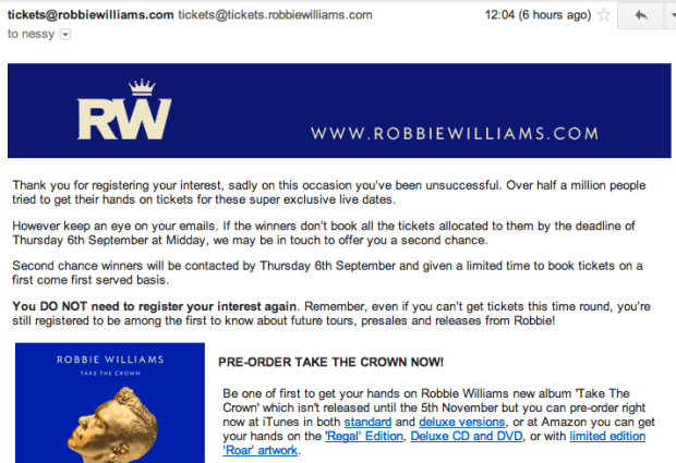 RobbieWilliams1stmail