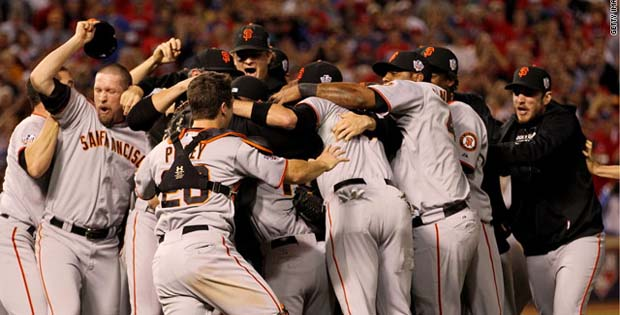 SF GIANTS CELEBRATE