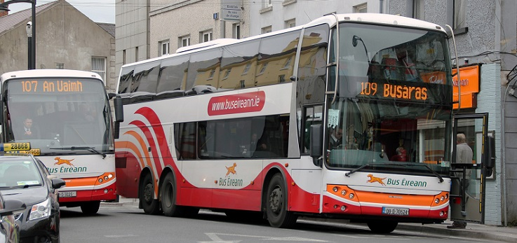 Can you get out of that thing?' // Accessibility on Bus Eireann's