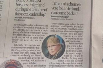 IrishTimesemigrantspaper