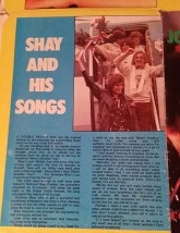 Original Johnny Logan Poster from 1980 as from my treasure trove box of goodies