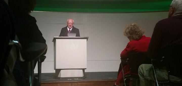 President Michael D Higgins at Congress House - nessymon.com