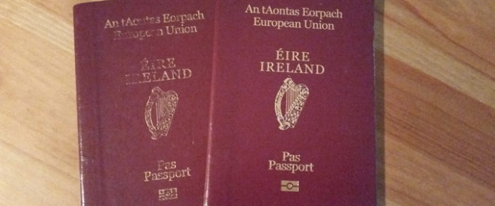 Irish Passport Cover - nessymon