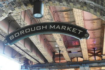 Borough Market sign - nessymon