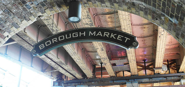 Borough Market sign - nessymon