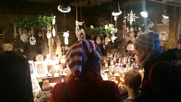 Christmas Stall - London- nessymon