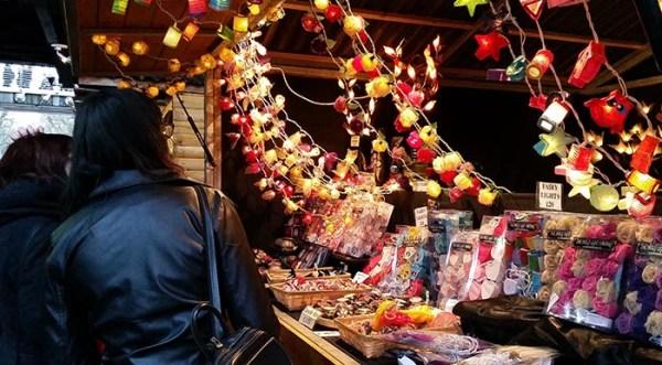 Christmas Stall - Southbank - London - nessymon