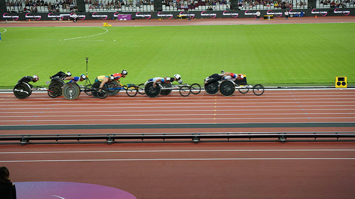 Wheelchair racing - Para Athletics championships 2017 ©nessymon