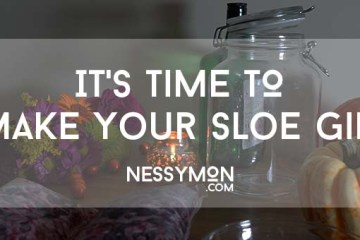 Make Your Sloe Gin - nessymon