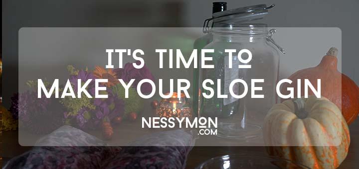 Make Your Sloe Gin - nessymon
