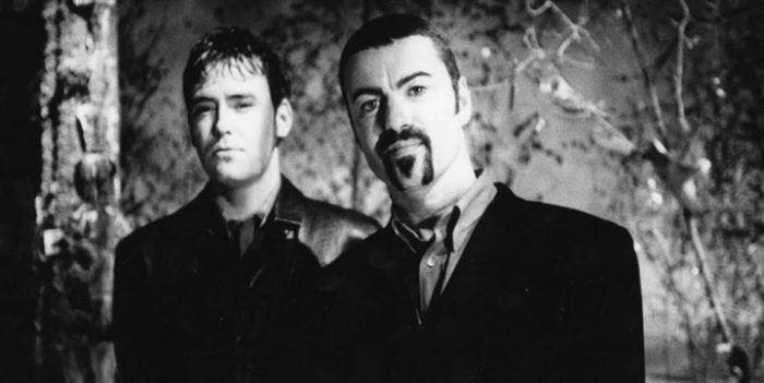 Toby Bourke with George Michael - nessymon