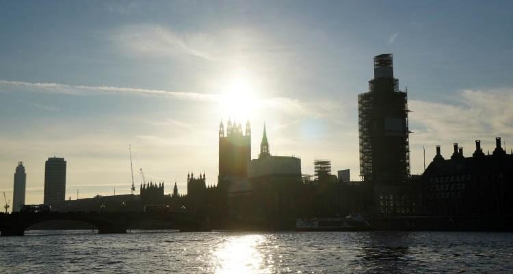 Elizabeth Tower on the Thames