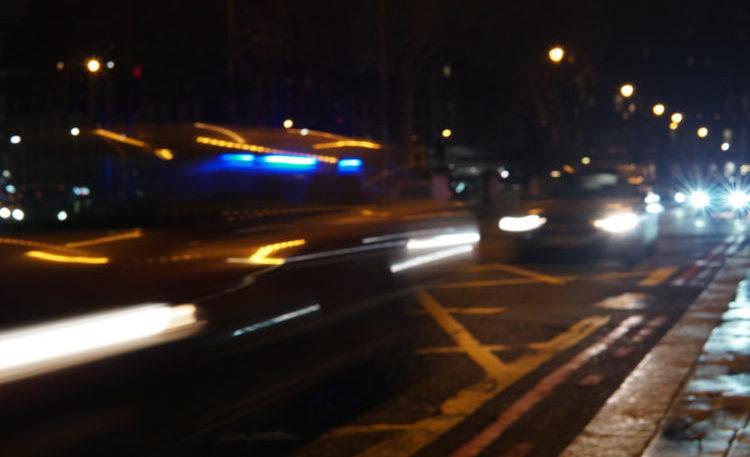 Night time Traffic London