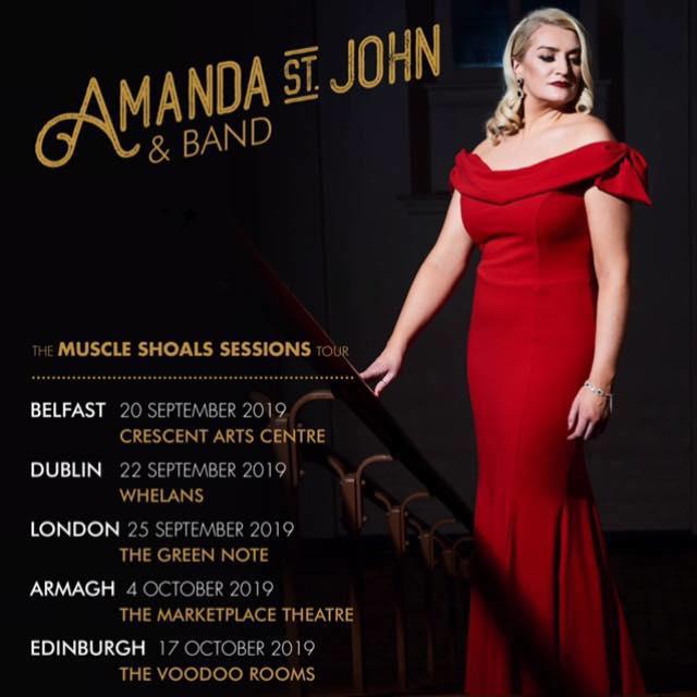 Amanda St John Tour poster
