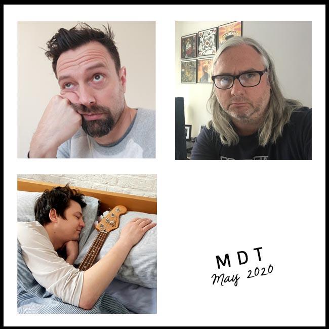 MDT in 3 selfies arranged in a square - nessymon