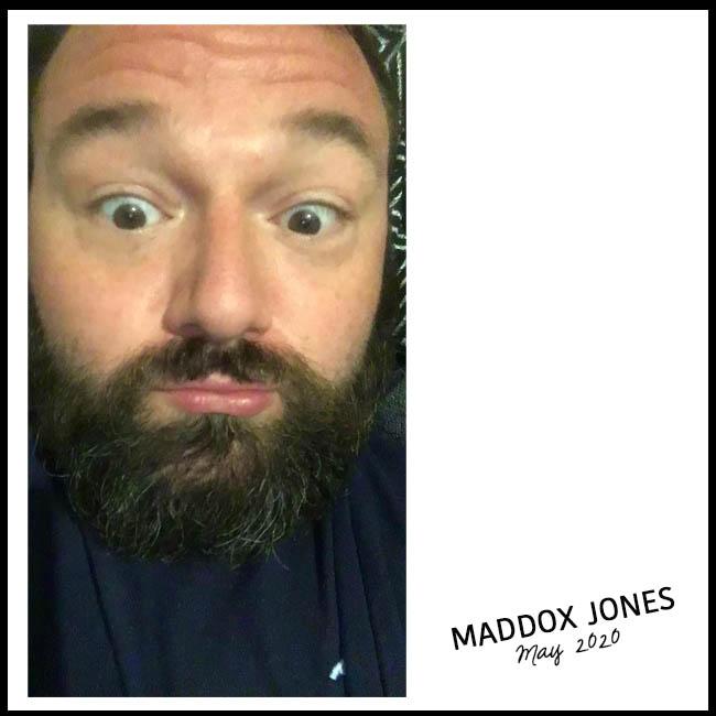 Maddox Jones selfie for Nessymon Interview