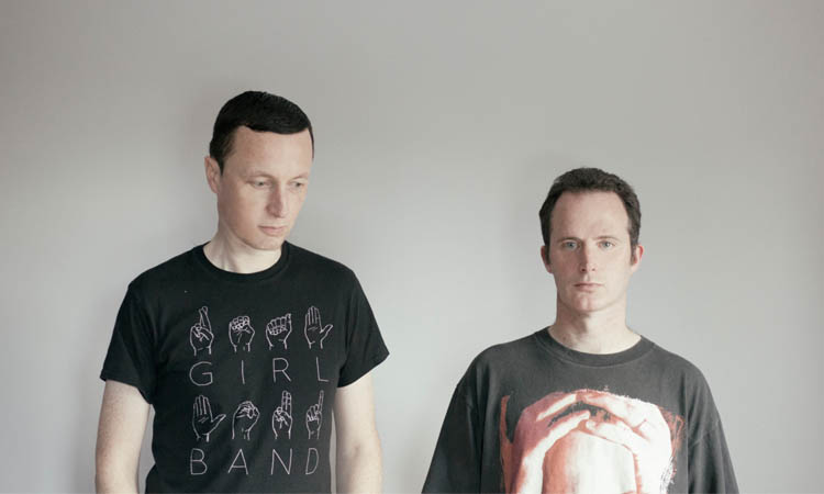 Pity of the Sea band photo - 2 guys standing in front of a grey wall