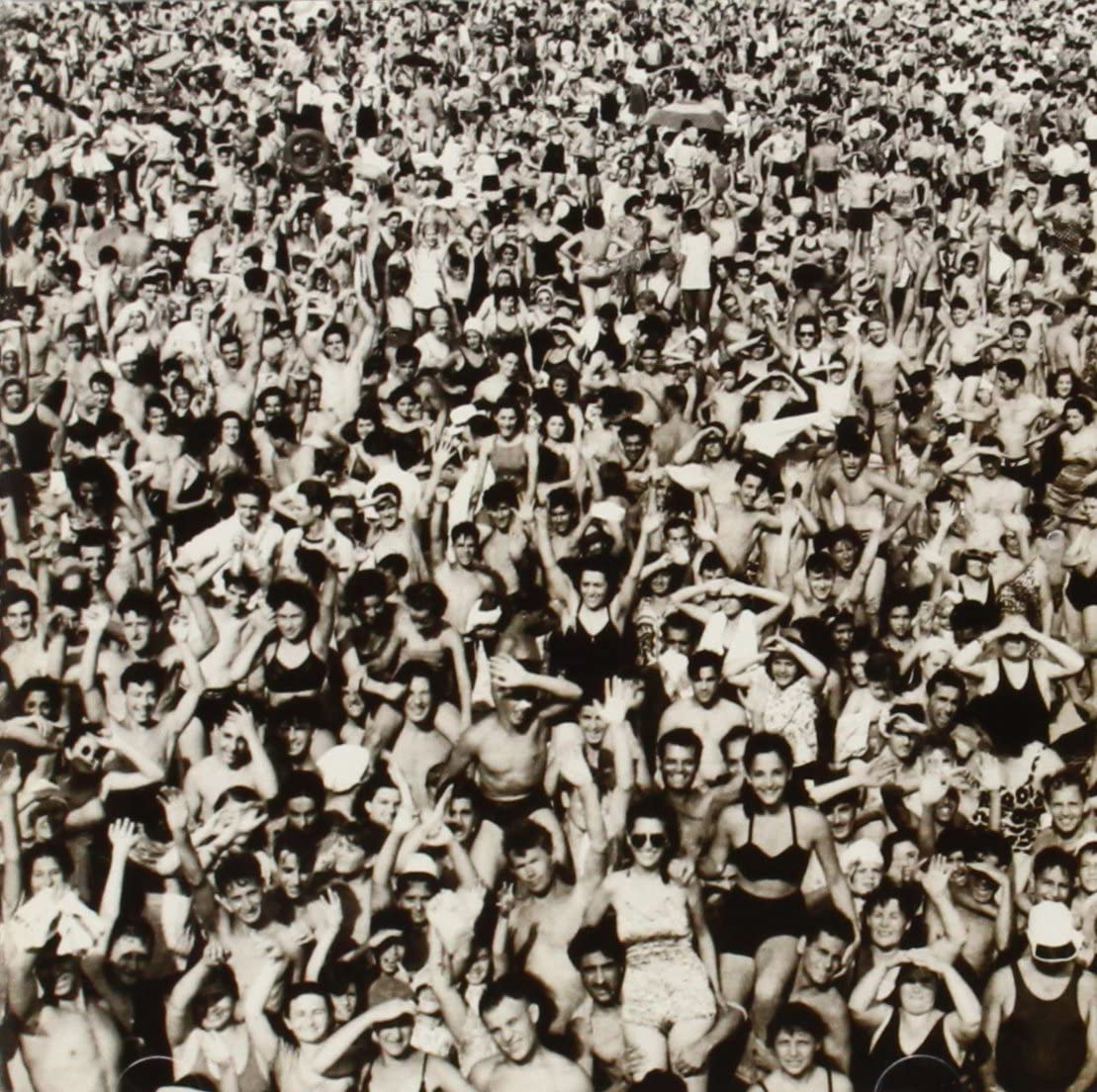 """Cover of George Michael's album Listen without Prejudice, photo taken by Arthur """"Weegee"""" Fellig"""