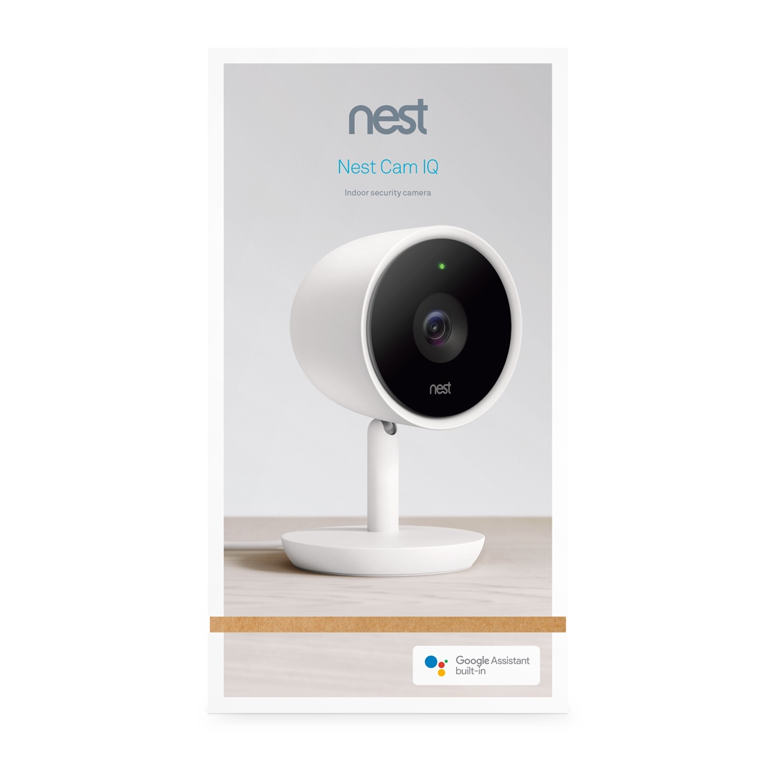 One of the best things about Nest products is that they continue to get better through over-the-air software updates. So we're excited to give customers the ability to add the Google Assistant to Nest Cam IQ indoor, more intelligent activity zones to Nest Aware, and more flexibility with a 5-day Nest Aware subscription plan.