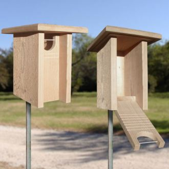 Bluebird nestbox plans Owl Nestboxes