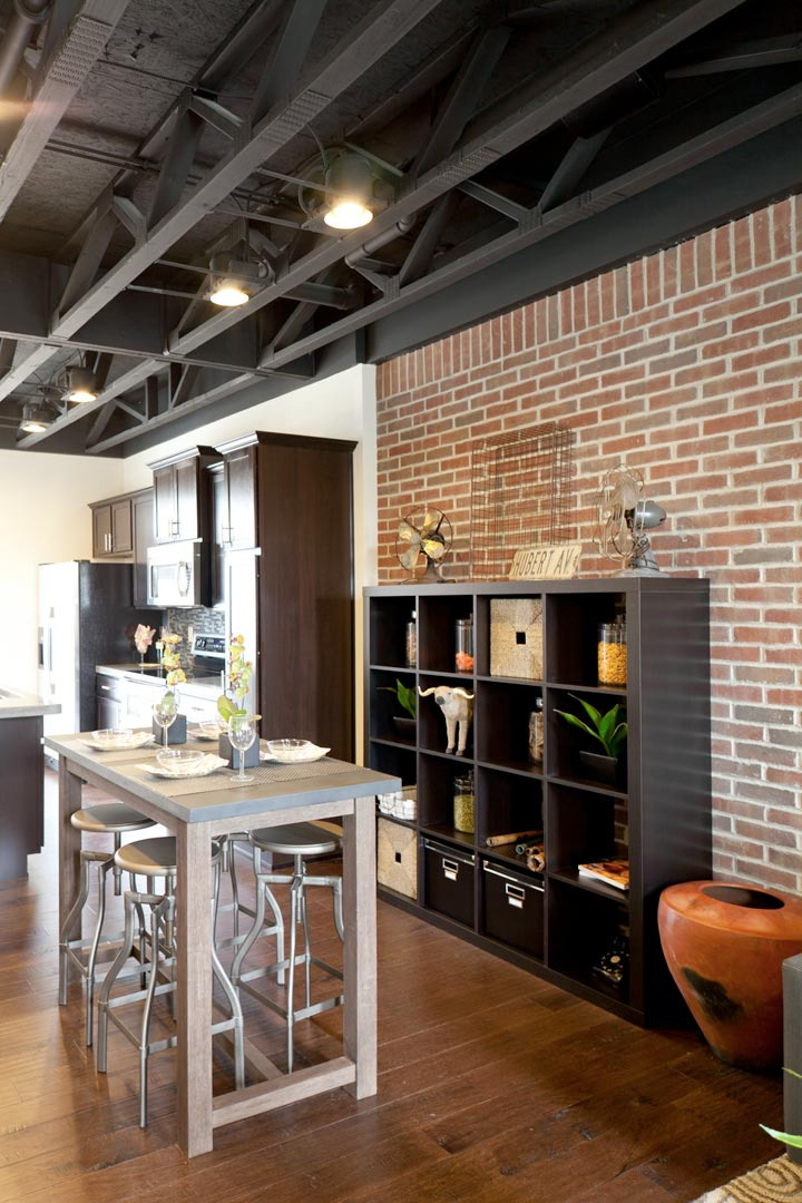 Dining Room Table And Cube Storage Unit Nest Designs LLC