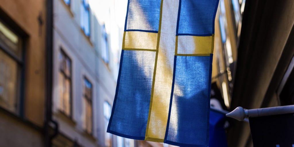 Låne penger i utlandet (bild: Sverige)