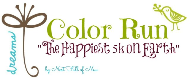 Color Run title