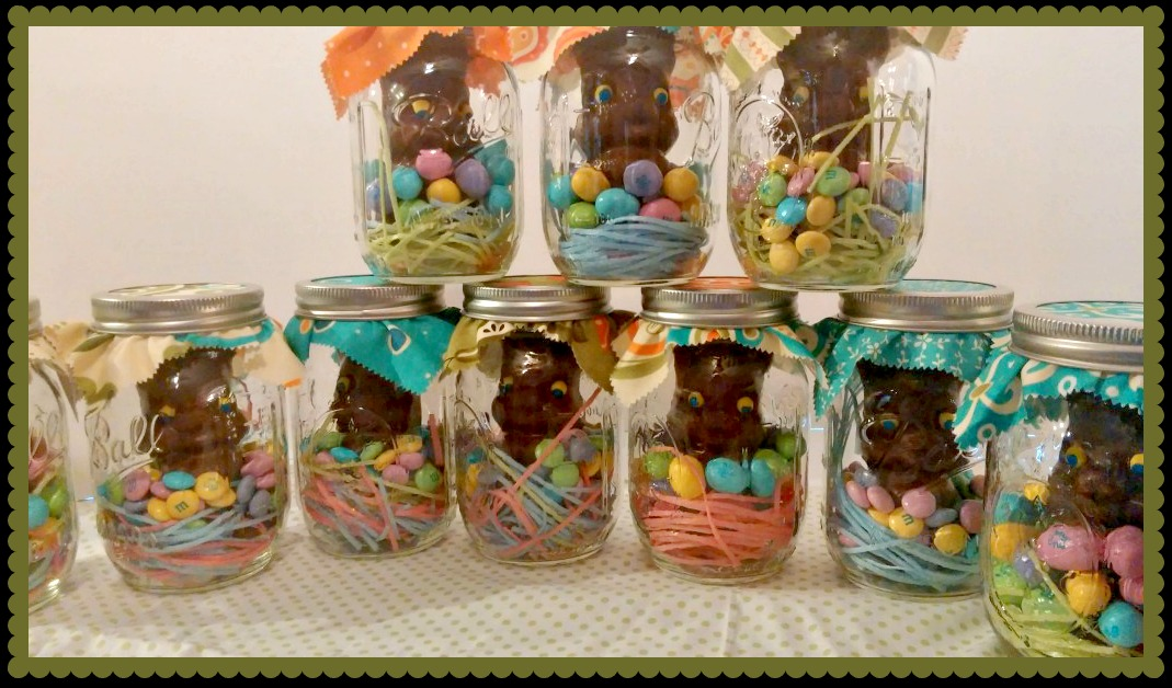 Easter Mason Jar Craft Easy And Adorable Nest Full Of New