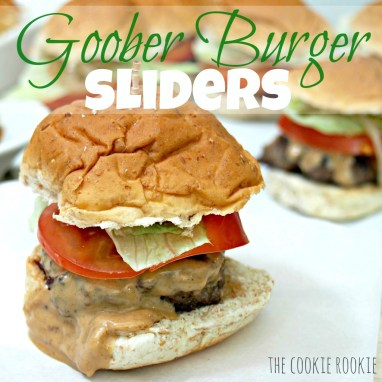 Goober Burger Sliders