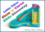 Little Tikes Slam Curve Slide Giveaway